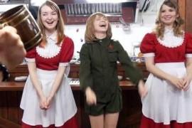 《少战》俄罗斯女仆咖啡馆火刚火就被官方打脸