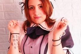 秋叶原外国女仆咖啡厅妹子有点壮