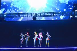 安菟女团虚拟偶像演唱会亮相CCG 带着Live AR 人工智能黑科技