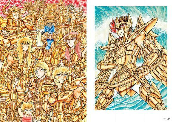 值得珍藏!《圣斗士星矢》30周年纪念画集发售