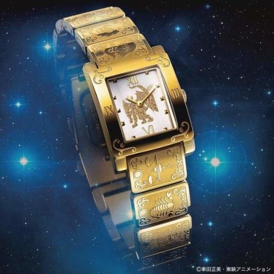 金光闪闪!《圣斗士》黄金十二宫限量手表开售