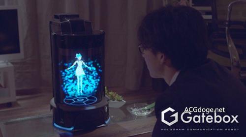 32 万日元买个虚拟老婆回家,日本公司开发全息交互二次元萌妹子装置开始预约