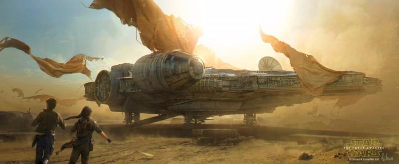 《星球大战》设计图插画欣赏 @幻思系 首发