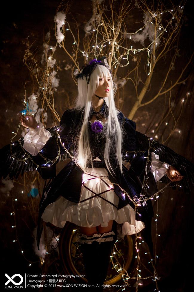 【cos作品】《蔷薇少女》第一人偶 水银灯