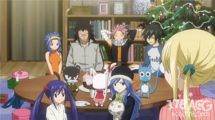 圣诞节她们居然…!「妖精的尾巴」第58卷同捆OAD动画PV公开!