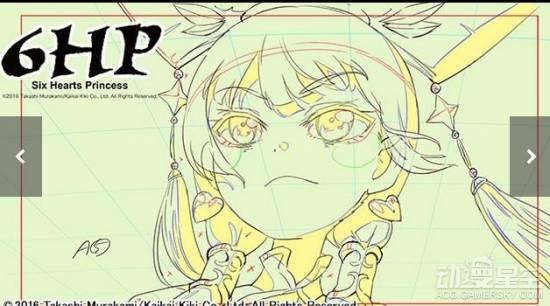 业界奇葩!准备6年的动画《6HP(Six Hearts Princess)》最终竟以草稿开播